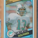 2001 Topps Archives Reserve Refractor Dan Marino 1984 Rookie Reprint Dolphins