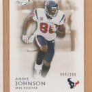 2011 Topps Legends Bronze Andre Johnson Texans /299