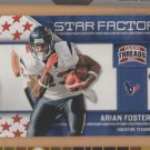 2011 Threads Star Factor Arian Foster Texans