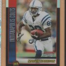 2002 Bowman Chrome Refractor Marvin Harrison Colts /500