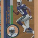 2001 Pacific Invincible Premiere Date Karsten Bailey Seahawks /55