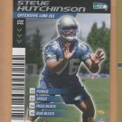 2001 NFL Showdown Rookie Steve Hutchinson Seahawks RC