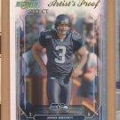 2006 Score Select Artist's Proof Josh Brown Seahawks /32