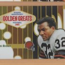 2005 Topps Chrome Golden Anniversary Greats Jim Brown Browns