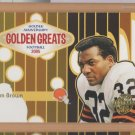 2005 Topps Golden Anniversary Greats Jim Brown Browns