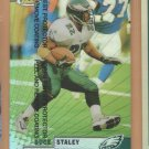 1999 Topps Finest Refractor Duce Staley Eagles