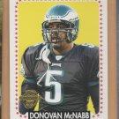 2005 Topps Throwbacks Donovan McNabb Eagles