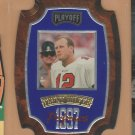 1997 Playoff Contenders Performers Plaques Blue Trent Dilfer Buccaneers