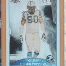 2009 Topps Chrome Refractor Julius Peppers Panthers
