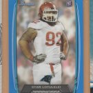 2013 Bowman Blue Rookie Star Lotulelei RC Panthers /499