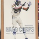 2000 Skybox Dominion Hard Corps Randy Moss Vikings