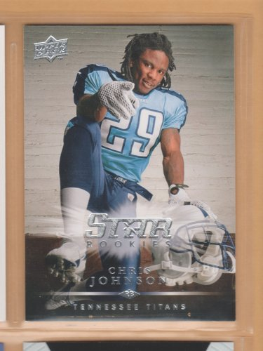 2008 Upper Deck Rookie Chris Johnson Titans RC