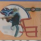 1999 Donruss Preferred QBC Hard Hats Steve McNair Titans /3000
