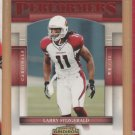 2007 Gridiron Gear Performers Red Larry Fitzgerald Cardinals
