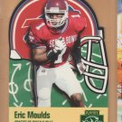 1996 Playoff Prime X's & O's Die Cut Rookie Eric Moulds Bills RC