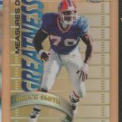 1998 Topps Chrome Measures of Greatness Refractor Bruce Smith Bills