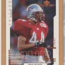 2000 Upper Deck MVP Rookie Brian Urlacher Bears RC