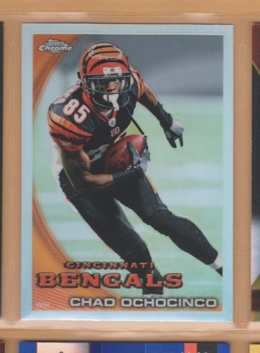 2010 Topps Chrome Refractor Chad Ochocinco Bengals