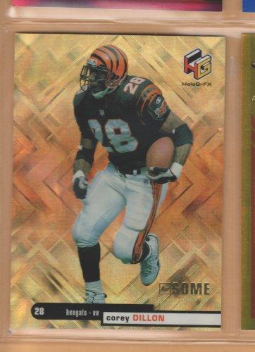 1999 UD HoloGrFx Ausome Gold Corey Dillon Bengals