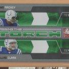 2009 Elite Passing the Torch Green John Mackey Dallas Clark Colts /499