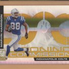 2007 Donruss Elite Zoning Commission Marvin Harrison Colts /1000