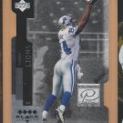1998 Black Diamond Premium Cut Quad Diamond Herman Moore Lions