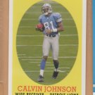 2007 Topps Turn Back the Clock Rookie Calvin Johnson Lions RC