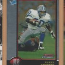 1998 Bowman Chrome Barry Sanders Lions