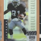 1999 Playoff Momentum SSD Rookie Rollcall Tim Brown Raiders