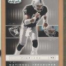 2001 Playoff Preferred National Treasures Tim Brown Raiders /400