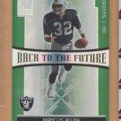 2006 Donruss Elite Back to the Future Marcus Allen Raiders /1000 w/ LaMont Jordan