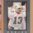 1996 Ultra Sensations Pewter Dan Marino Dolphins