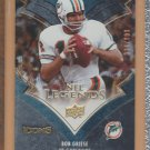 2005 Upper Deck Icons NFL Legends Bob Griese Dolphins /999