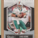 2010 Donruss Classics Timeless Tributes Chad Henne Dolphins /100