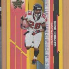 2006 Leaf Rookies and Stars Longevity Gold Warrick Dunn Falcons Buccaneers /49