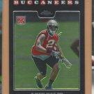 2008 Topps Chrome Rookie Aqib Talib Buccaneers Broncos RC