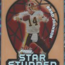 2000 Fleer Focus Star Studded Die Cut Brad Johnson Redskins