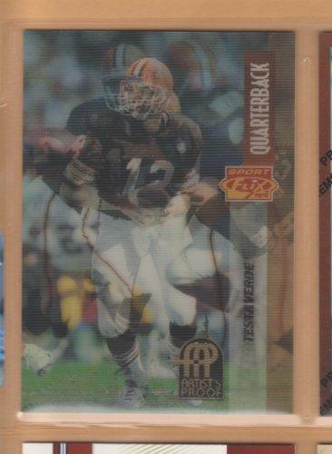 1995 Pinnacle Sportflix Artist's Proof Vinny Testaverde Browns