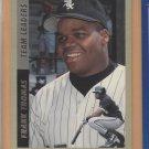 1993 Fleer Team Leaders Frank Thomas White Sox