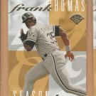 1995 Leaf Frank Thomas #3 White Sox