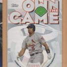 2006 Topps Own the Game Albert Pujols Cardinals