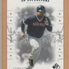 2001 UD SP Authentic SP Superstars Manny Ramirez Red Sox /1250