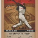 2003 Fleer Authentix Ken Griffey Jr Reds