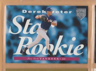 1995 Upper Deck Star Rookie Electric Diamond Silver Derek Jeter Yankees