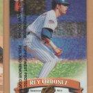 1998 Topps Finest Refractor Rey Ordonez Mets