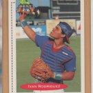 1991 Classic Best Rookie Ivan Rodriguez Rangers RC
