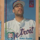 1994 Bowman Preview Rookie Tony Clark Tigers RC