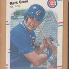 1988 Fleer Update Rookie Mark Grace Cubs RC