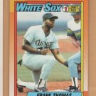 1990 Topps Rookie Frank Thomas White Sox RC