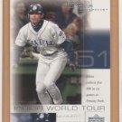 2001 UD Pros & Prospects Ichiro World Tour Rookie WT7 Ichiro Suzuki Mariners RC